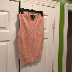 Ralph Lauren sweater sleeveless vest